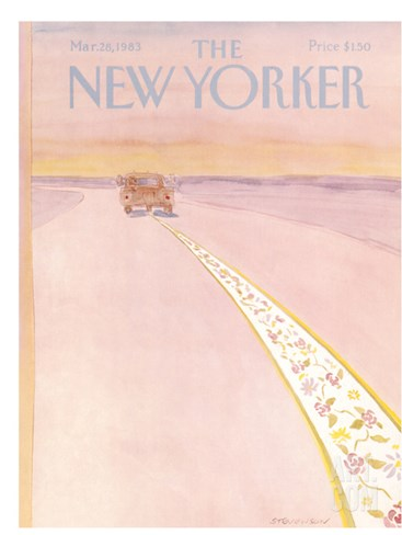 The New Yorker Cover - March 28, 1983 Stretched Canvas Print