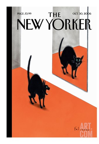 The New Yorker Cover - October 30, 2006 Stretched Canvas Print