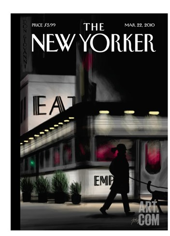 The New Yorker Cover - March 22, 2010 Stretched Canvas Print