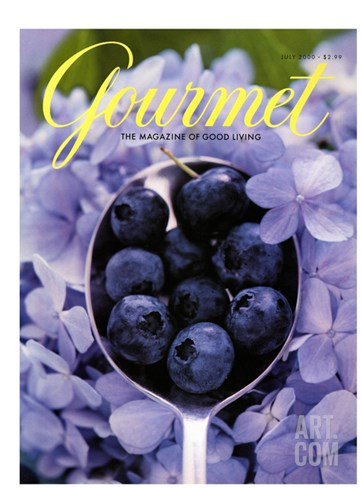 Gourmet Cover - July 2000 Stretched Canvas Print