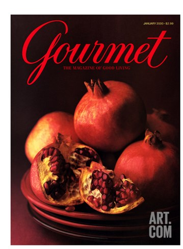 Gourmet Cover - January 2000 Stretched Canvas Print