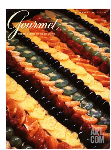 Gourmet Cover - November 1983 Stretched Canvas Print