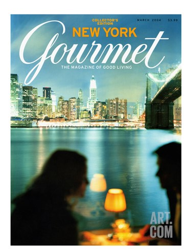 Gourmet Cover - March 2004 Stretched Canvas Print