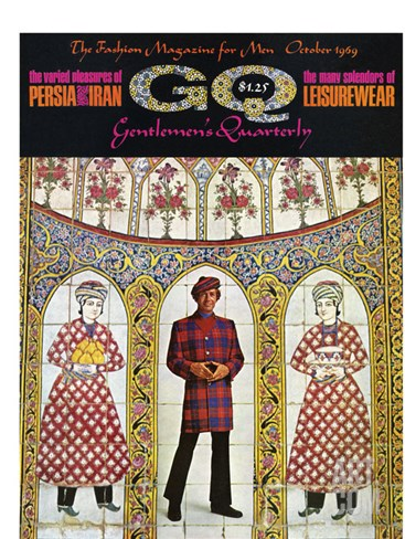 GQ Cover - October 1969 Stretched Canvas Print