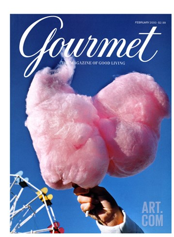 Gourmet Cover - February 2000 Stretched Canvas Print
