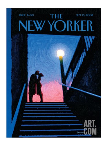 The New Yorker Cover - September 15, 2008 Stretched Canvas Print