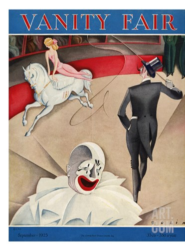 Vanity Fair Cover - September 1925 Stretched Canvas Print