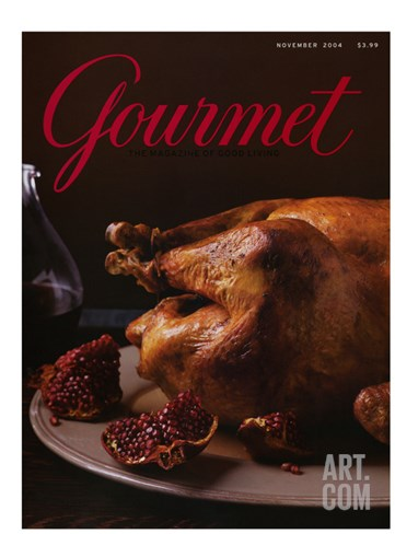 Gourmet Cover - November 2004 Stretched Canvas Print