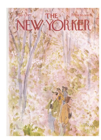 The New Yorker Cover - May 5, 1973 Stretched Canvas Print