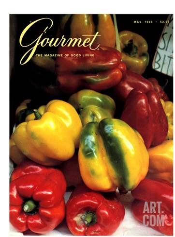 Gourmet Cover - May 1984 Stretched Canvas Print