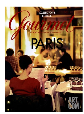 Gourmet Cover - March 2001 Stretched Canvas Print