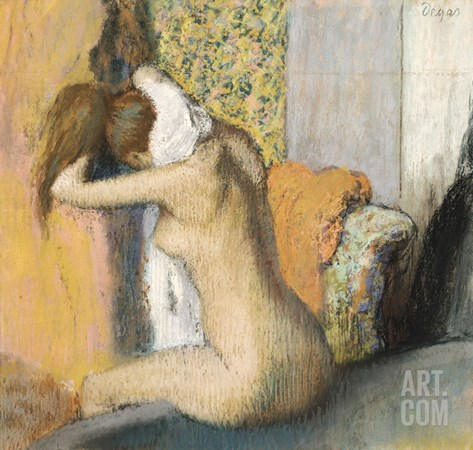 After the Bath (1898) Stretched Canvas Print