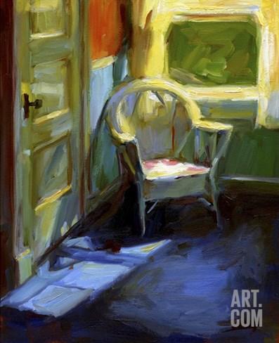 Sunny Corner Stretched Canvas Print