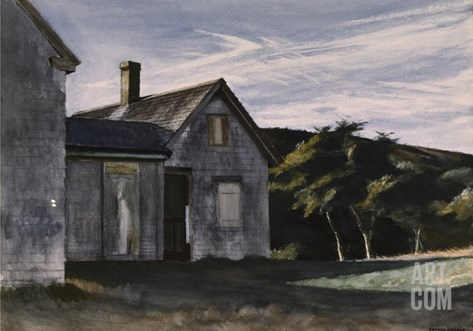 Cobb's House Stretched Canvas Print