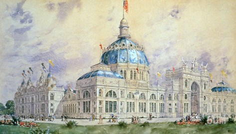 Columbian Exposition, 1893 Stretched Canvas Print