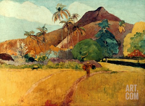 Gauguin: Tahiti, 1891 Stretched Canvas Print