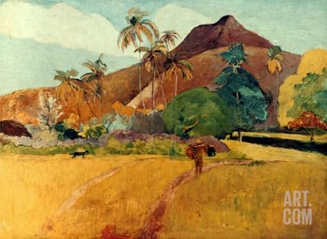 Gauguin: Tahiti, 1891 Stretched Canvas Print