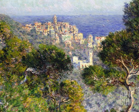 Monet: Bordighera, 1884 Stretched Canvas Print
