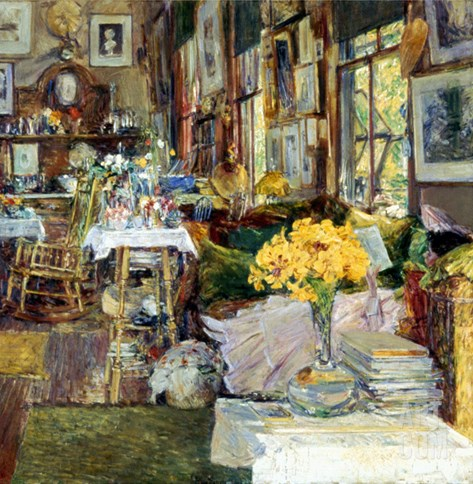 Room Of Flowers, 1894 Stretched Canvas Print