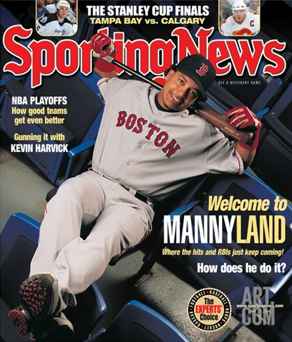 Boston Red Sox Manny Ramirez - May 31, 2004 Stretched Canvas Print