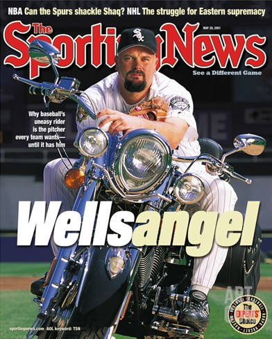 Chicago White Sox P David Wells - May 28, 2001 Stretched Canvas Print
