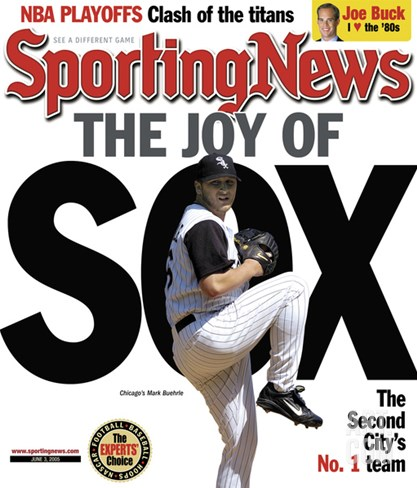Sporting News Magazine June 03, 2005 - The Joy of Sox - The Second City's No. 1 Team Stretched Canvas Print