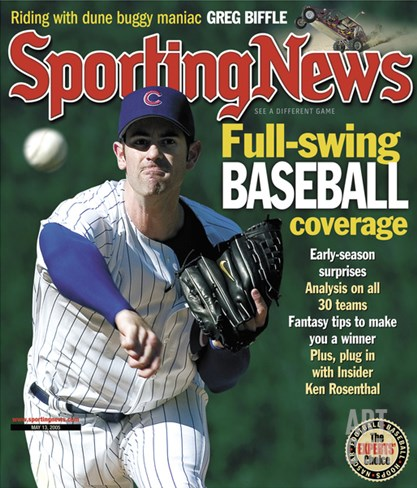 Chicago Cubs P Mark Prior - May 13, 2005 Stretched Canvas Print
