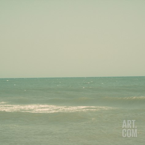 Carolina Beach I Stretched Canvas Print
