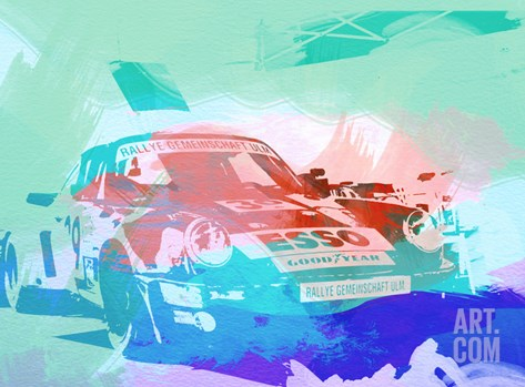 911 Before The Race Stretched Canvas Print