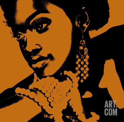 Aisha Stretched Canvas Print