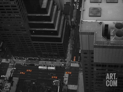 Nyc From The Top 1 Stretched Canvas Print