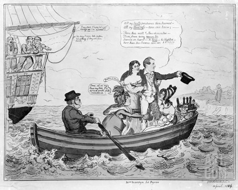 Fare Thee Well, C.1816 (Engraving) Stretched Canvas Print