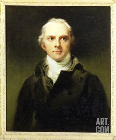 Samuel Lysons (1763-1819) 1799 Stretched Canvas Print