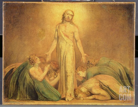 Christ Appearing to the Apostles after the Resurrection, 1795-1805 Stretched Canvas Print
