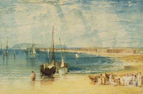 Weymouth, C.1811 (W/C on Paper) Stretched Canvas Print