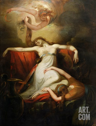 Dido, 1781 Stretched Canvas Print