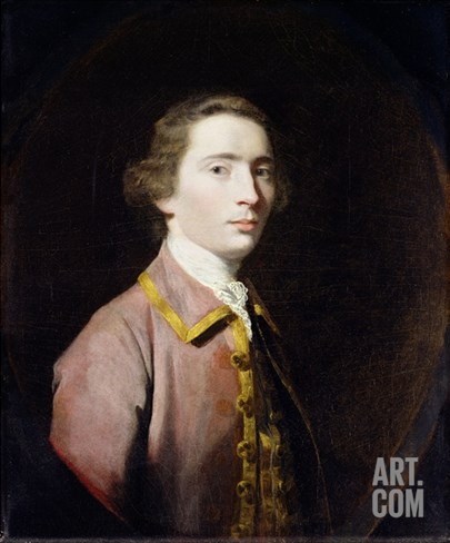 Charles Carroll of Carrollton, c.1763 Stretched Canvas Print