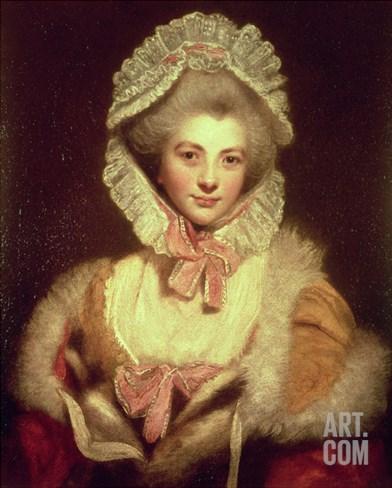 Countess Lavinia Spencer (1762-1831) 1781-2 Stretched Canvas Print