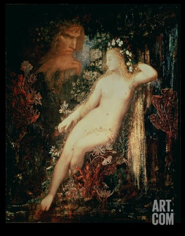 Galatea, 1880-81 Stretched Canvas Print