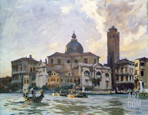 Palazzo Labia, Venice Stretched Canvas Print