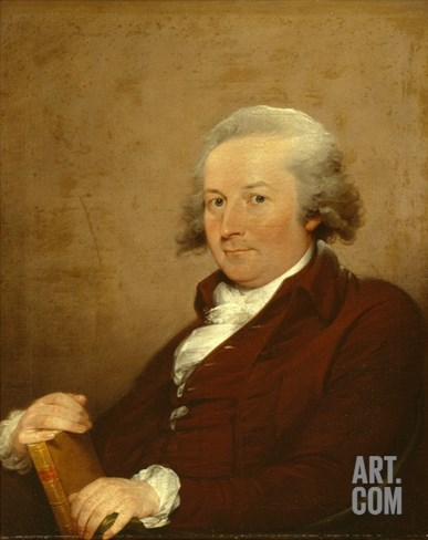 John Trumbull. 1793 Stretched Canvas Print