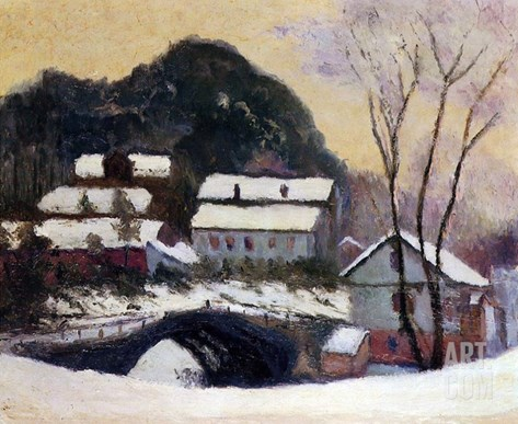 Sandviken, Norway, 1895 Stretched Canvas Print