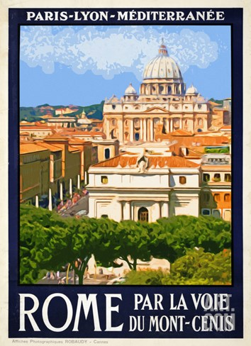 St. Peter's Basilica, Roma Italy 6 Stretched Canvas Print