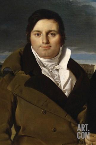 Joseph Antoine Moltedo Stretched Canvas Print