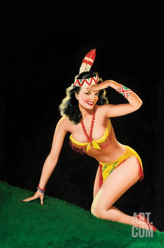 Beauty Parade Magazine; Dancin' Dynamite Stretched Canvas Print