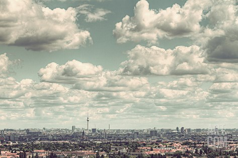 Berlin Stretched Canvas Print