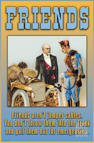 Friends Stretched Canvas Print