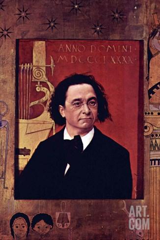 Joseph Pembauer Stretched Canvas Print
