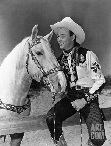 Roy Rogers (1912-1998) Stretched Canvas Print