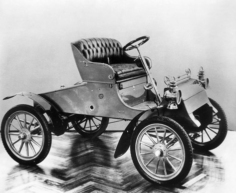 Model a Ford, 1903 Stretched Canvas Print